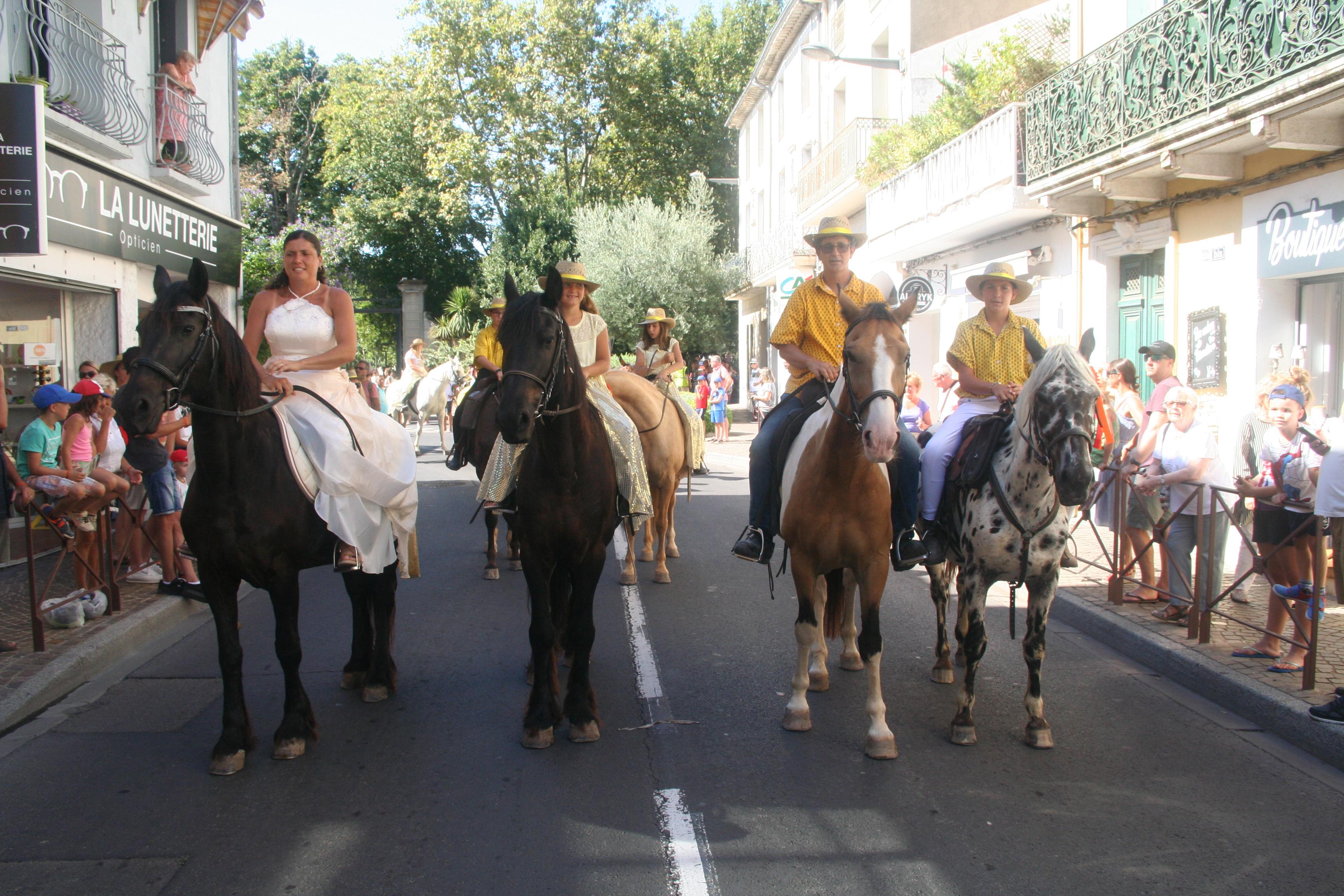 ranch le petit sam centre equestre cours balade benediction des chevaux 16 aout