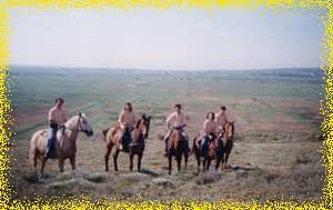 Rando a cheval dans les collines de lespignan (herault 34)