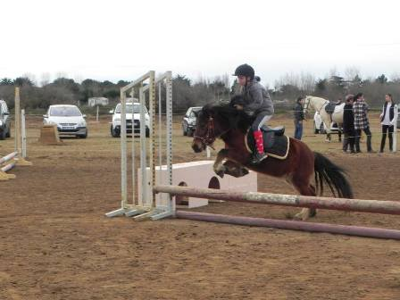 cours poney obstacles jeux