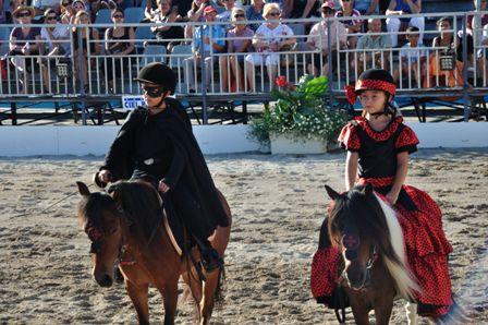 Spectacle équestre à la feria de Béziers 2013