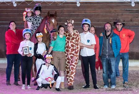 spectacle equestre centre equestre le petit sam